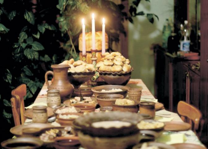 Святвечірні страви: символіка святкового столу -  - kutya 2