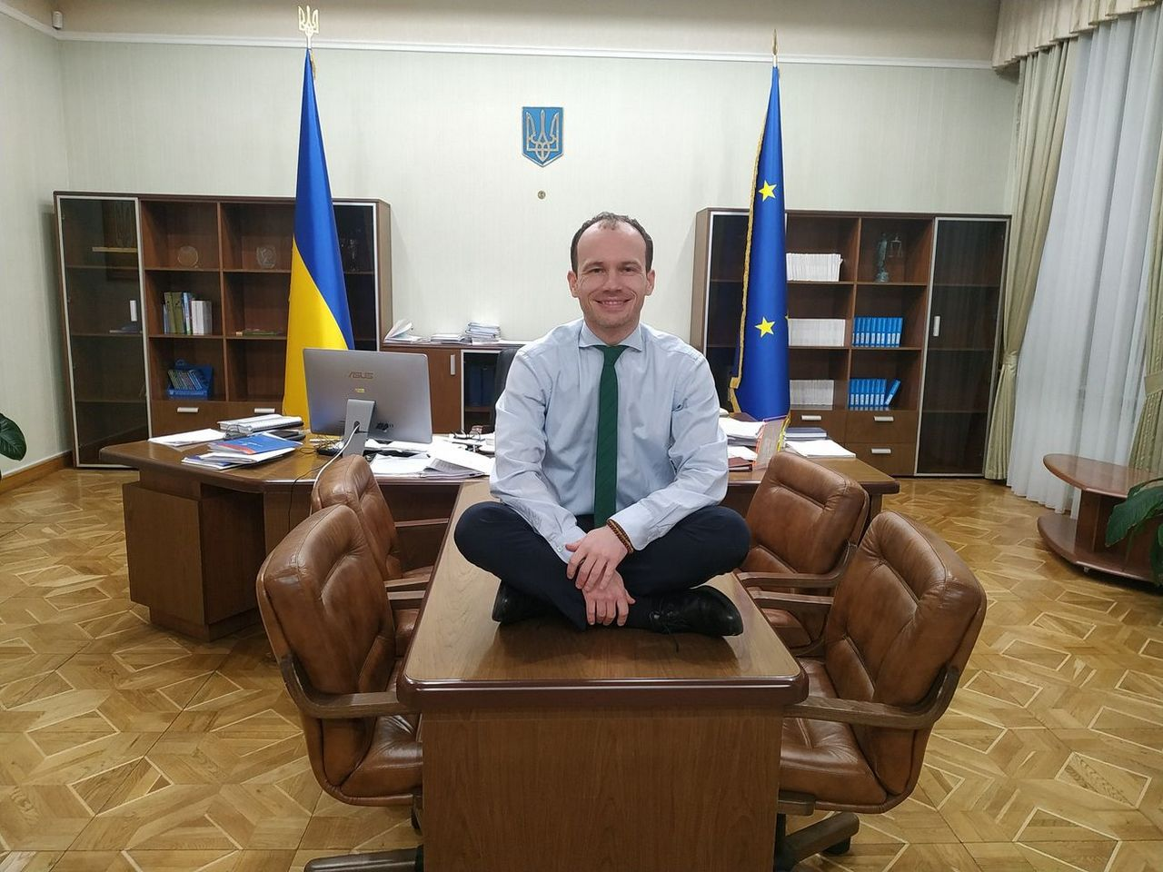 У Мін'юсті планують розпродавати в'язниці -  - ministr malyuska za rabotoj