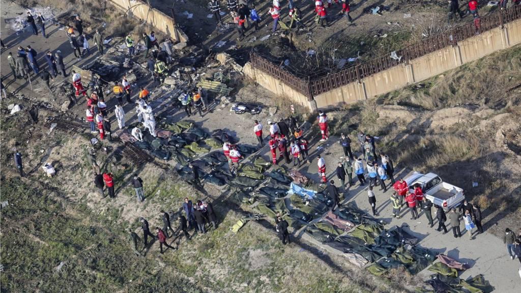 Вадим Пристайко спростував інформацію про знищення деталей літака бульдозером -  - mistse litaka
