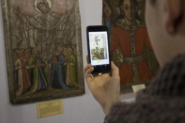 Музейні технології: «оживають» експонати Острозького замку - Україна, додаток - ostrog1