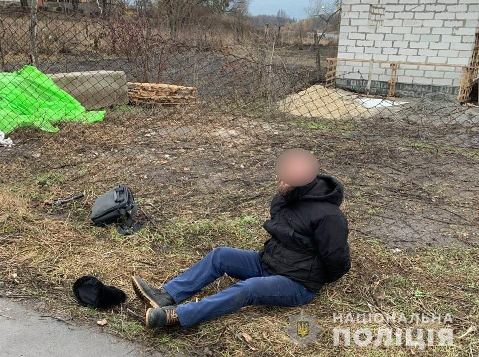 У Білій Церкві чоловік кинувся на поліцейських з револьвером: його затримали (ВІДЕО) - поліція Київщини, Біла Церква - torbts2