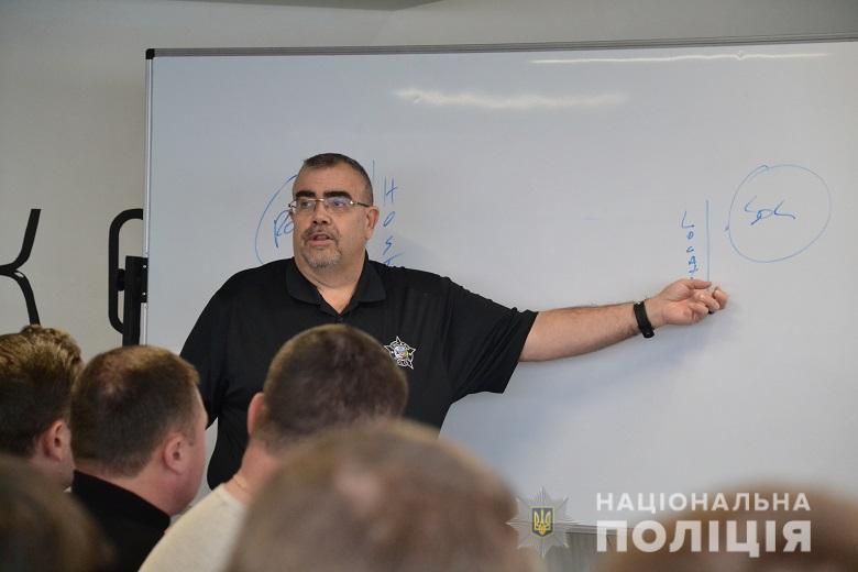 Тренінг для поліцейських Києва від перемовника зі США -  - trening6