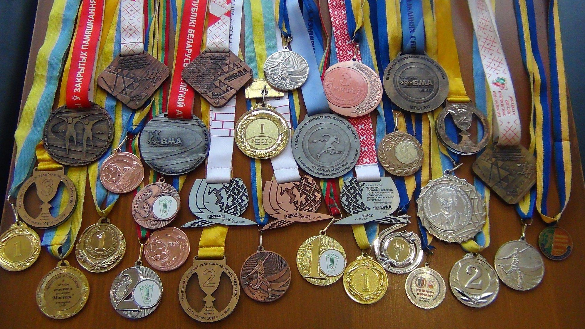 Вишгородський ветеран-спортсмен виборов три медалі на змаганнях у Мінську - спорт, нагороди, київщина, Змагання, Вишгородський район - volkotrub2