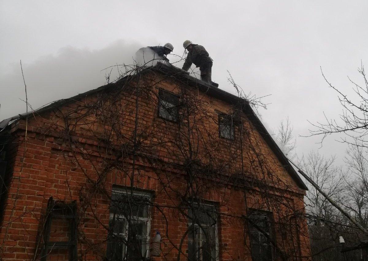 На Іванківщині горів приватний житловий будинок -  - yzobrazhenye viber 2020 01 10 13 25 58