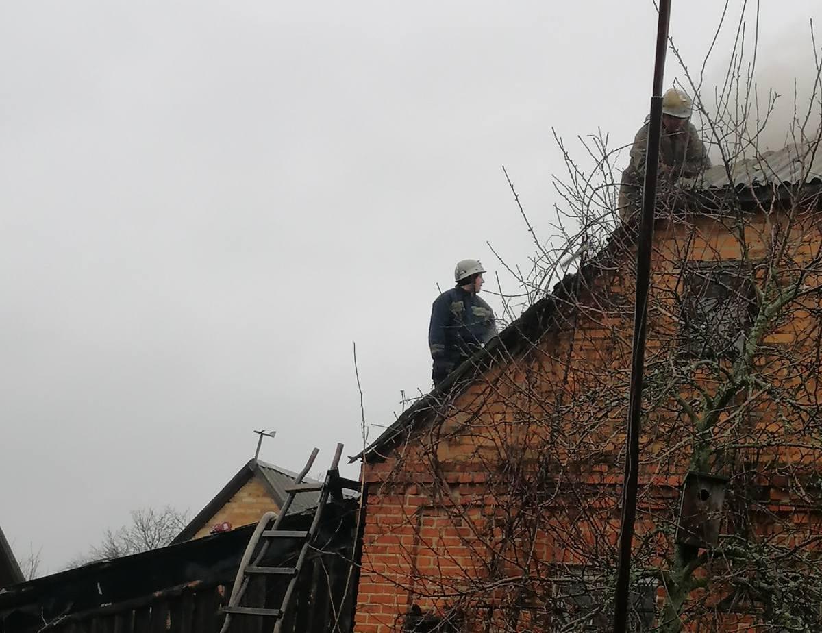 На Іванківщині горів приватний житловий будинок -  - yzobrazhenye viber 2020 01 10 13 26 05