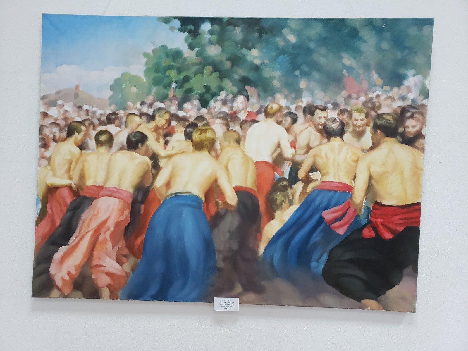 Виставка художніх робіт з фондів Броварського краєзнавчого музею (фото, відео) -  - yzobrazhenye viber 2020 01 11 17 12 097