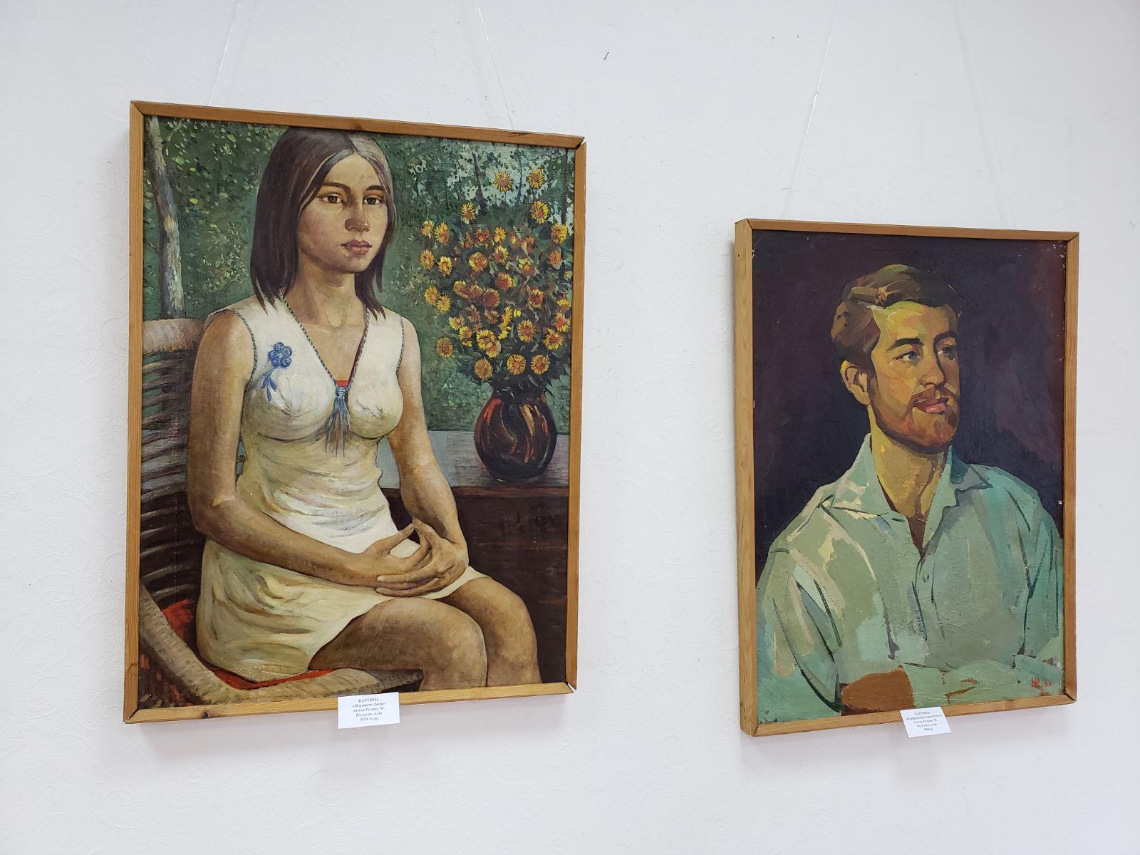 Виставка художніх робіт з фондів Броварського краєзнавчого музею (фото, відео) -  - yzobrazhenye viber 2020 01 11 17 12 3043