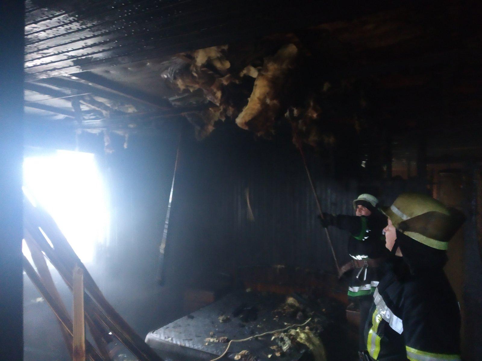 У Борисполі горіла лазня -  - yzobrazhenye viber 2020 01 29 12 00 46