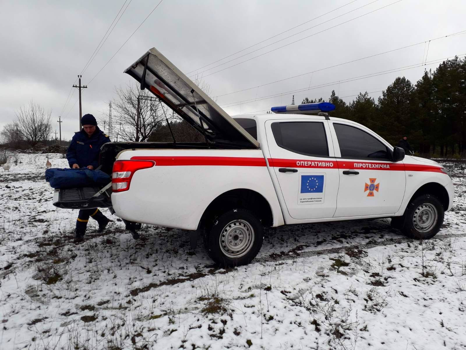 01-3 На Бородянщині поблизу житлового сектору знайшли артилерійський снаряд