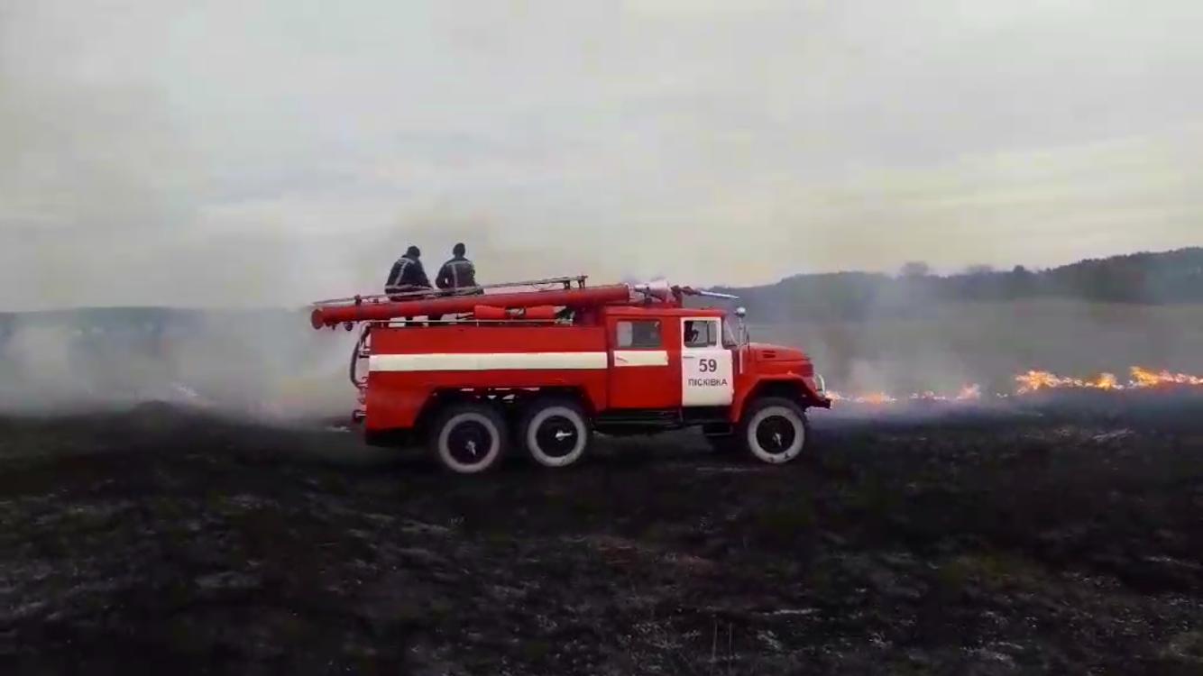 03 На Київщині масштабні пожежі сухостою: на Бородянщині горіло більше 23,5 га трави