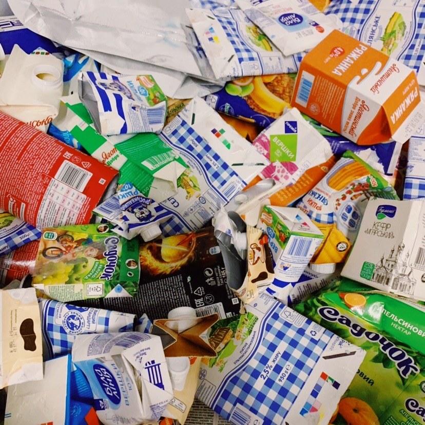 10_tetrapak В «Україна без сміття» наочно показали як сортувати тетрапак (ВІДЕО)