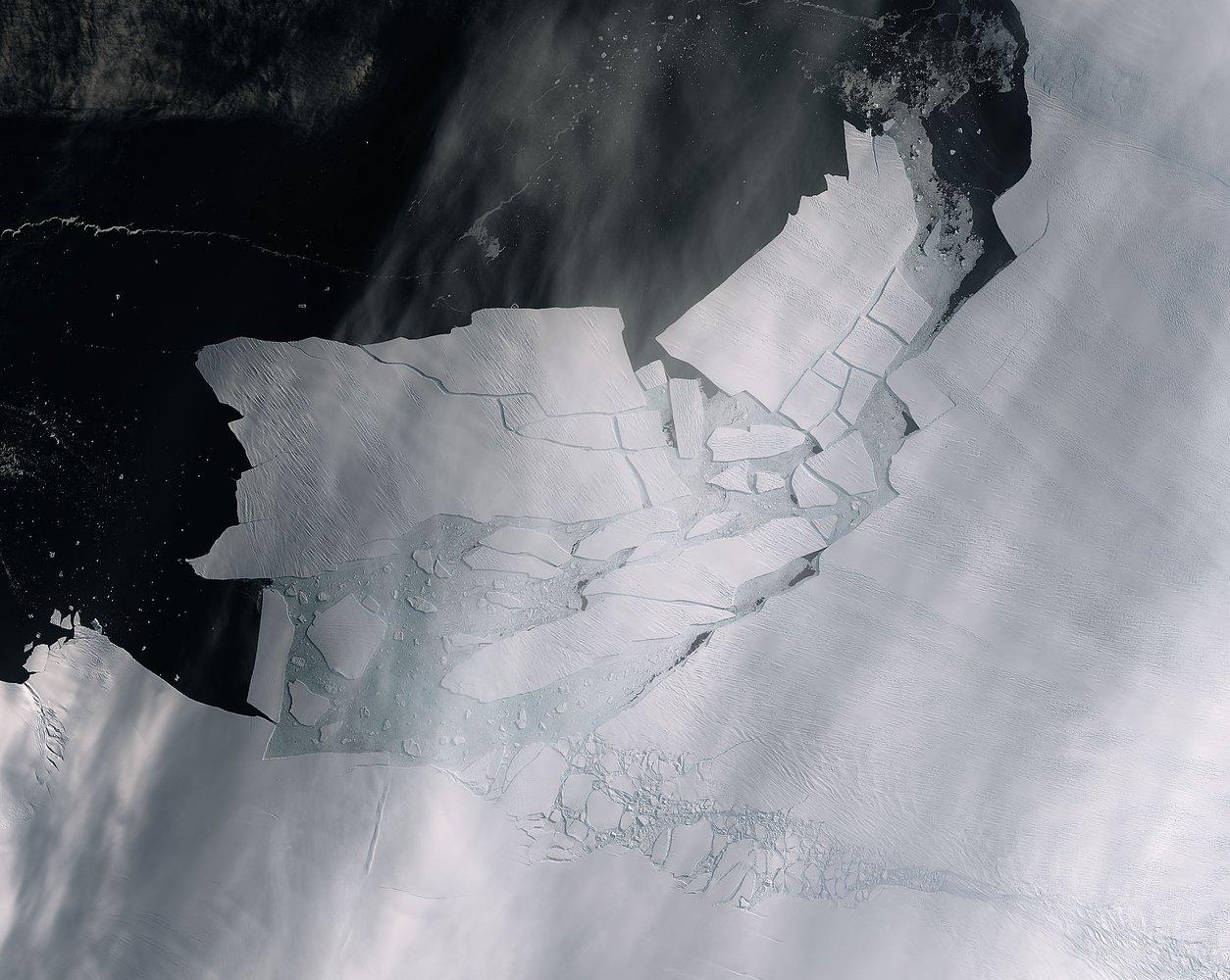 Масив льоду розміром майже з Харків відколовся від Антарктиди - зміна клімату, глобальні зміни клімату, глобальна зміна клімату, Антарктика - 14 led