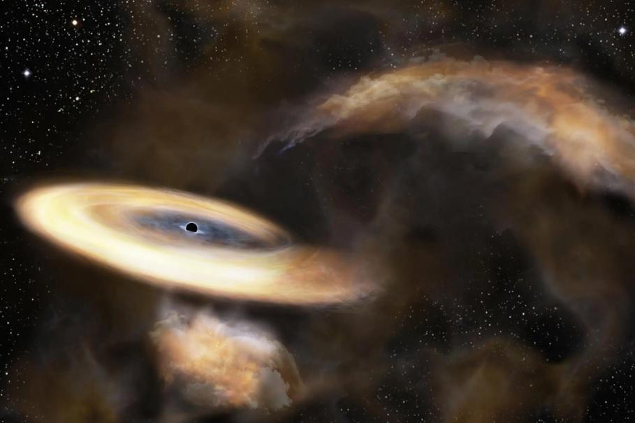 17_chernaya-dyra Вчені зафіксували дивні рухи газу в центрі нашої галактики: можливо це – чорна діра