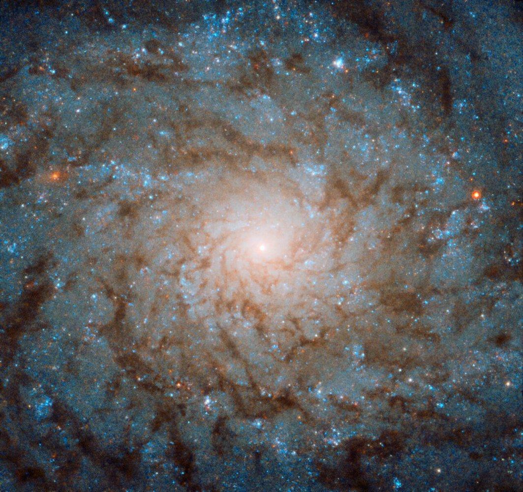 «Хаббл» зробив знімок, який НАСА визнало «світлиною тижня» - хаббл, НАСА NASA, космос, галактика, NASA - 20 habl