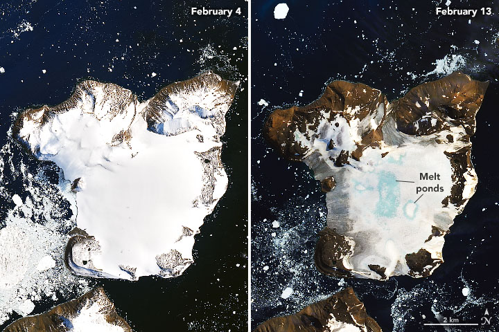 Супутник НАСА зафіксував танення 20% сніжного покриву Антарктиди - Антарктика, Антарктида, NASA - 23 tanennya