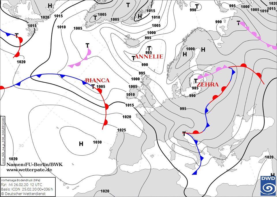 26_tsyklon До України прямує черговий циклон: 27 лютого у більшості областей дощитиме