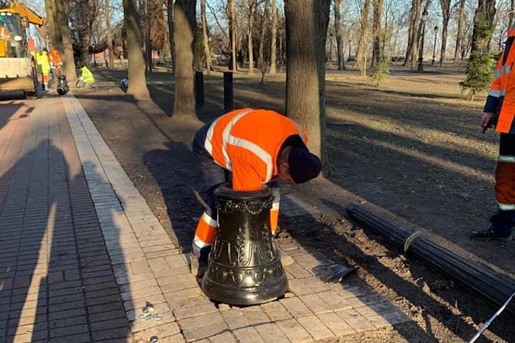84079166_195571328496016_1498173322574168064_n У Києві зламалися нові ліхтарі, які встановили замість виготовлених у 1950-х роках