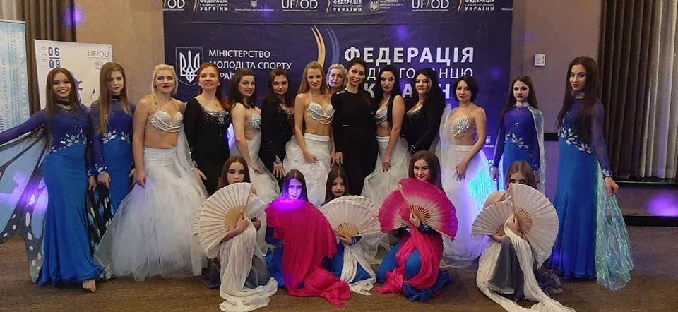85168227_710074849522192_8918092298395320320_o Танцівниці східного танцю з Українки перемогли на престижних змаганнях