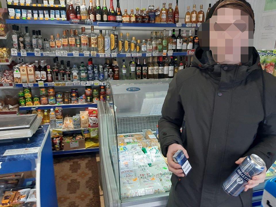 86661855_1306337326241878_5734261526093627392_o У Фастові неповнолітньому продали слабоалкоголку та цигарки: поліція зафіксувала факт