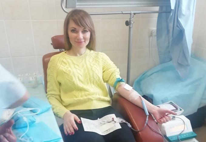 87891096_1074669509542422_4874130055179010048_o 43 донори у Василькові здали 15 літрів крові