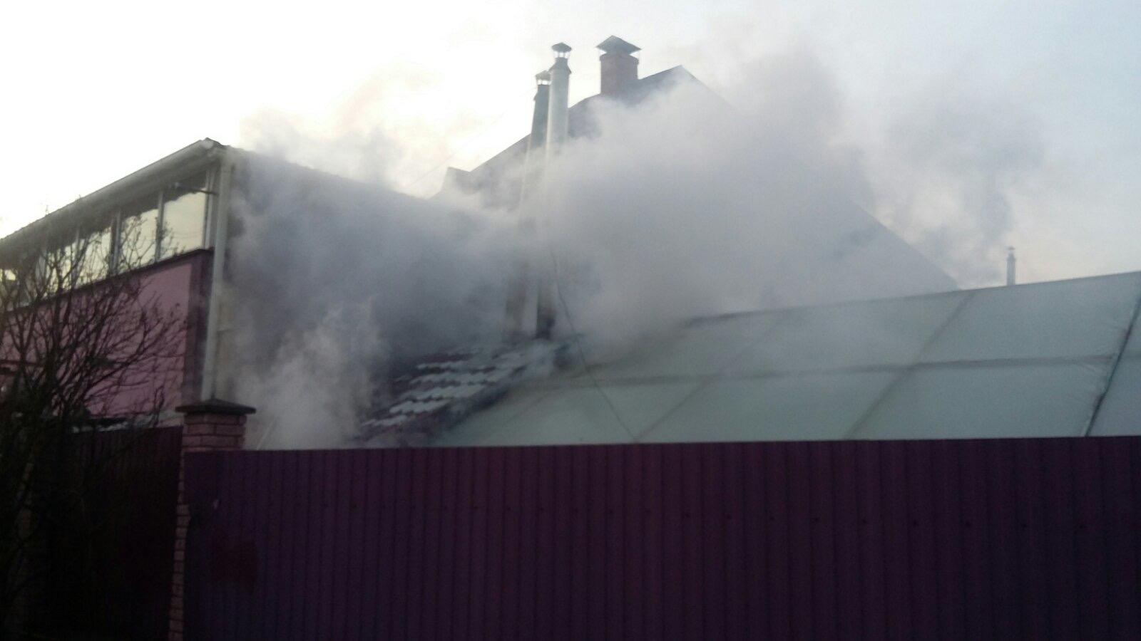 Gost-kotelnya Пожежа у Гостомелі: вогонь охопив котельню в житловому будинку