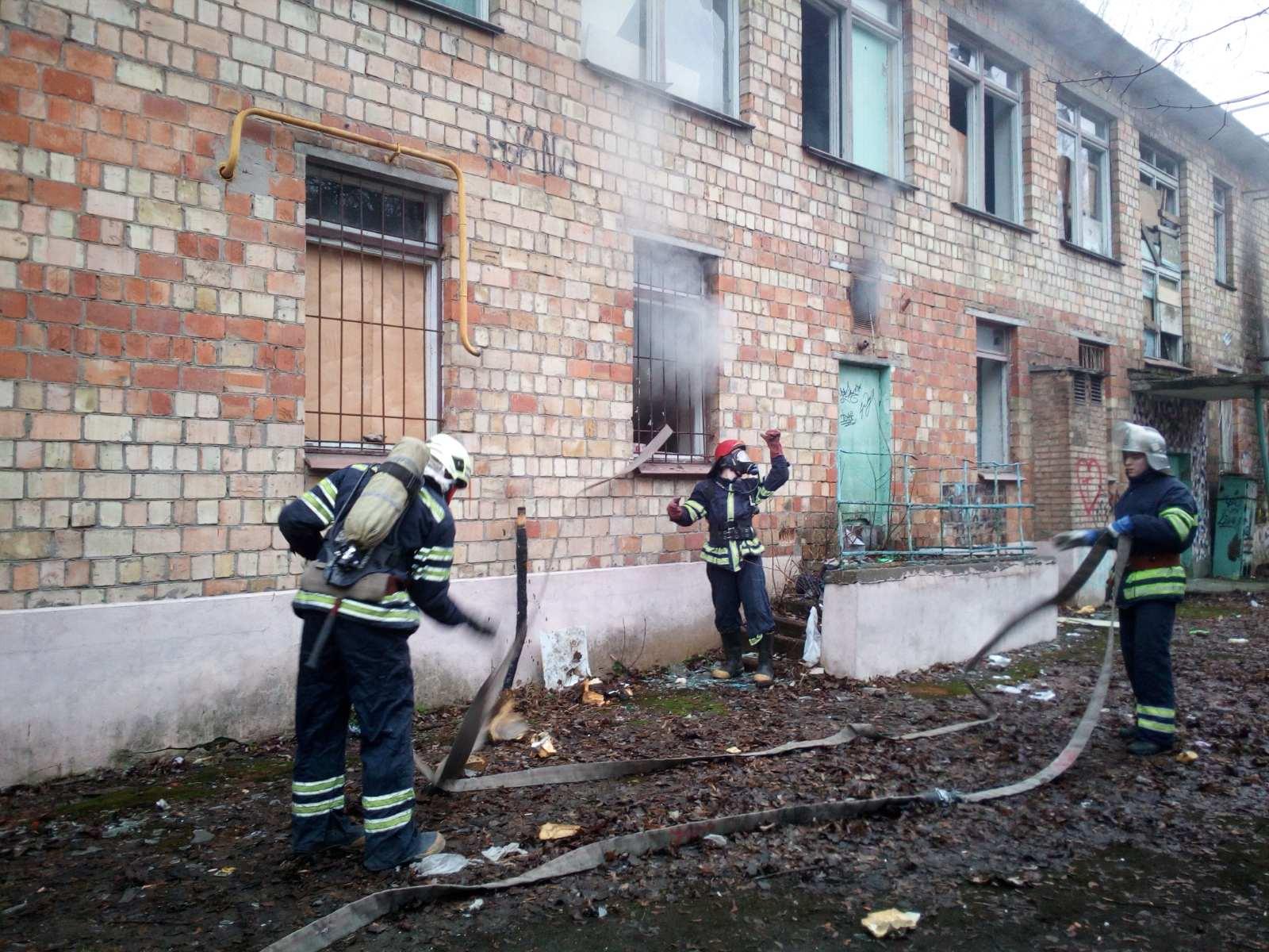 IMG-ecd2ccc80ca55d0137a75b7f75e80a70-V У Броварах сталося загорання у будівлі колишнього садочку