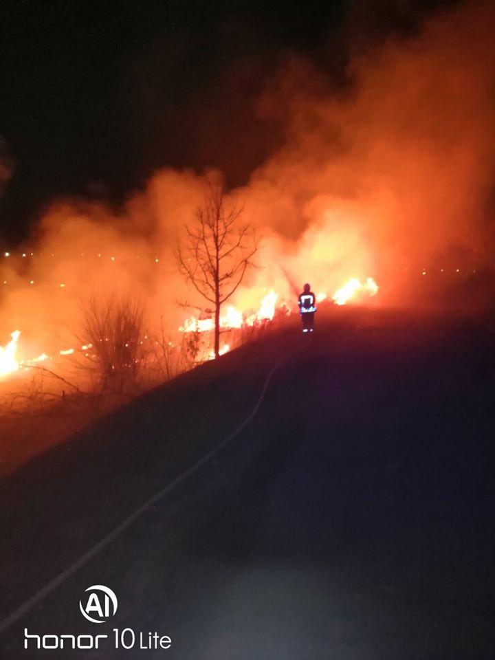 Irp-suh-trava-6 Пекельний вікенд: 5 загорань трав'яного настилу приборкали рятувальники Ірпінського регіону
