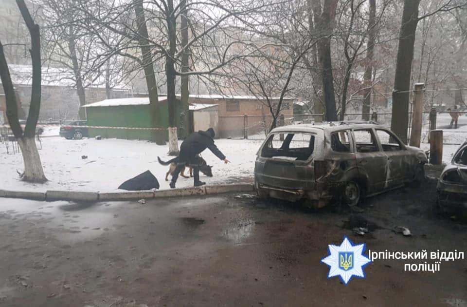 Slyus-zgor-pol-2 Слово – за експертами: у Коцюбинському палали два легковики – дружини депутата та сусідський
