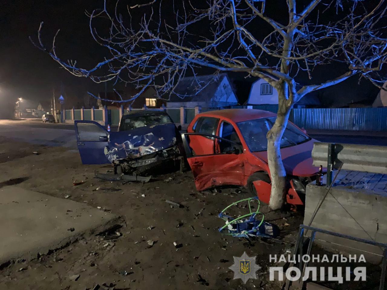 dtpputrivka ДТП на Васильківщині: травмовані четверо дорослих та 9-місячна дитина