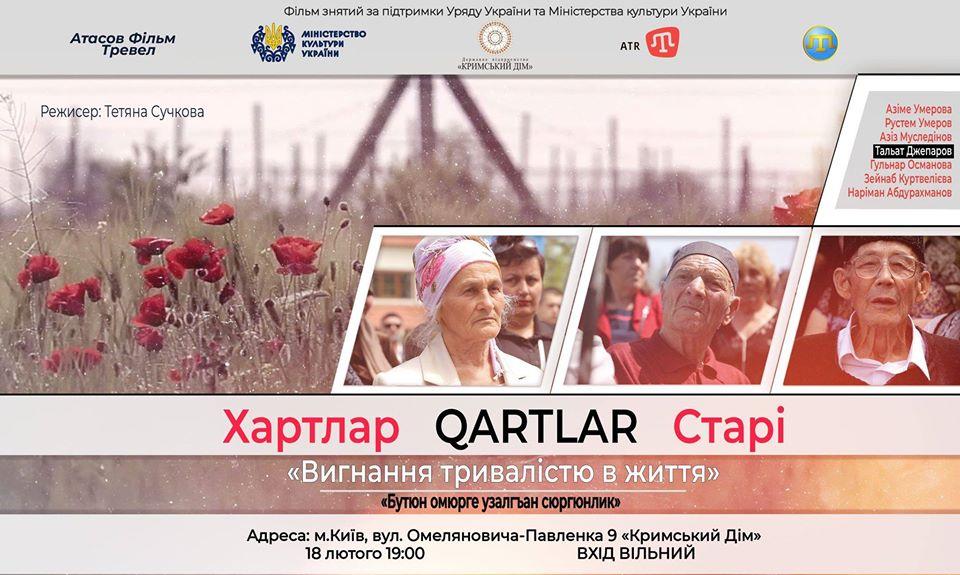 hartlar Кримський дім запрошує на презентацію фільму та музею
