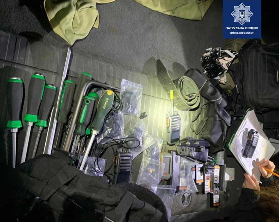 """kspatrl2 На трасі """"Київ–Одеса"""" поліція схопила можливих злодіїв"""