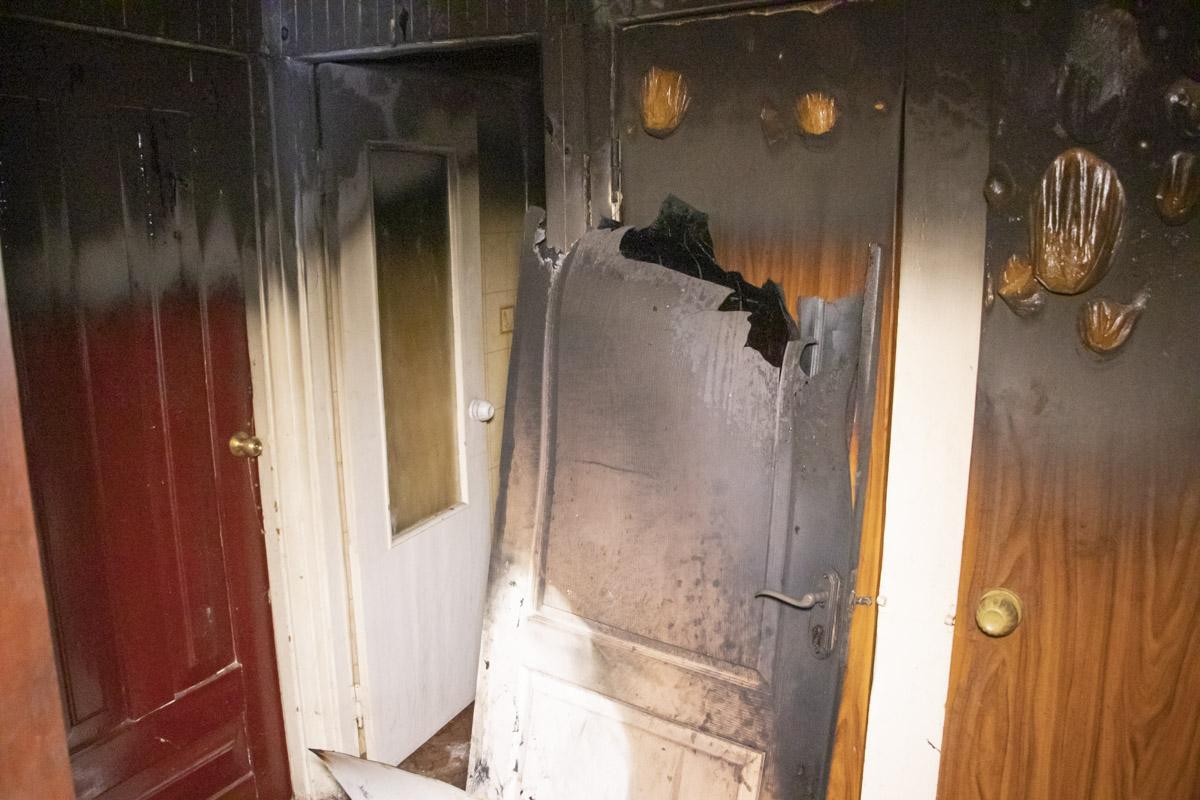kvartyraBorshh На Борщагівці сусід підпалив квартиру