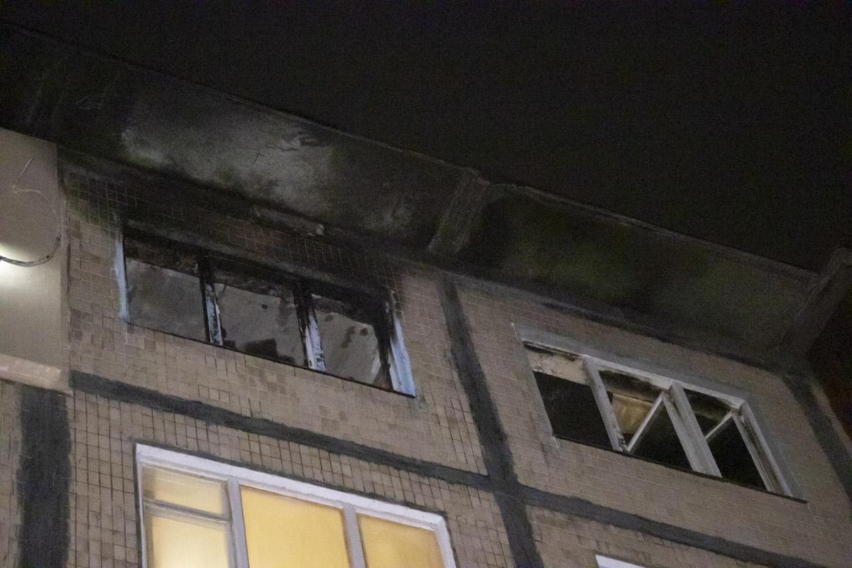 kvartyraBorshhagivka На Борщагівці сусід підпалив квартиру