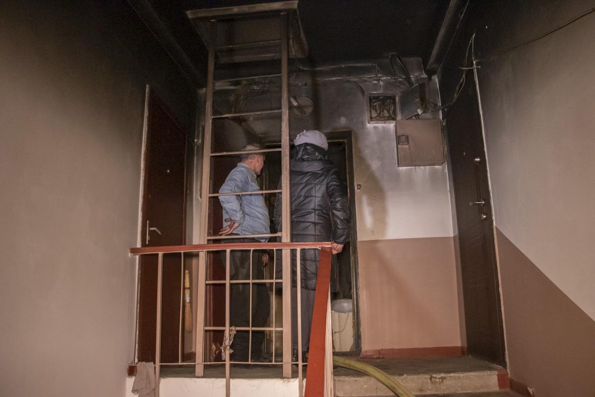 kvartyraborshh1 На Борщагівці сусід підпалив квартиру