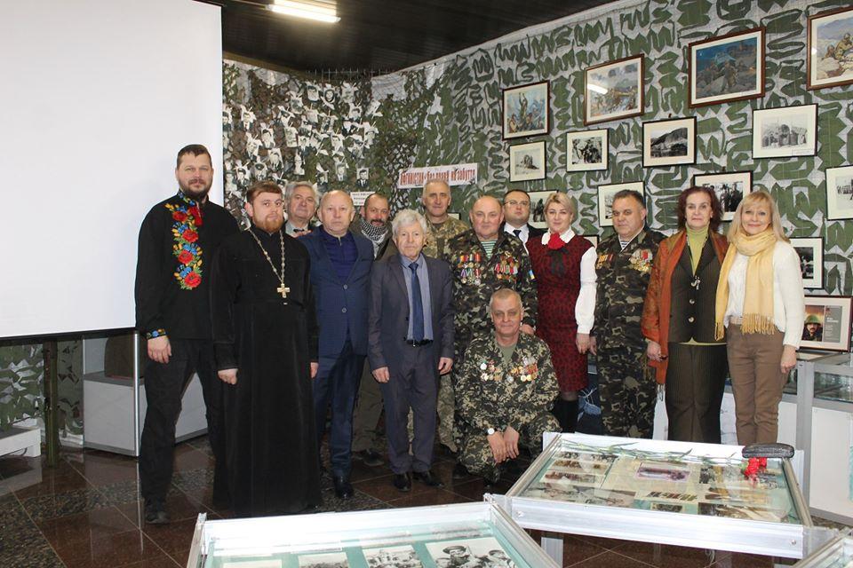 muzej11 На Вишгородщині відкрито  виставку «Афганістан – без права на забуття»