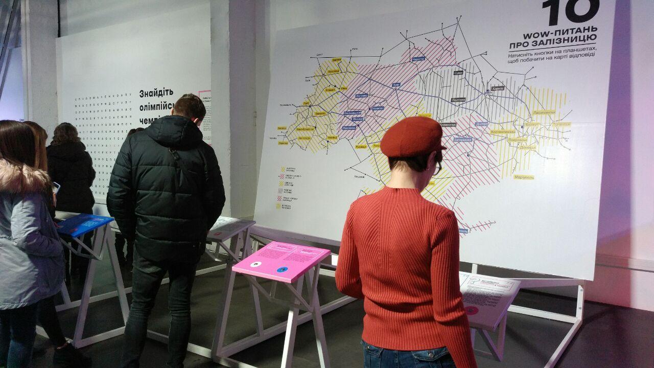 Ukraine WOW: на столичному вокзалі триває інтерактивна виставка -  - photo 2020 02 18 12 19 04