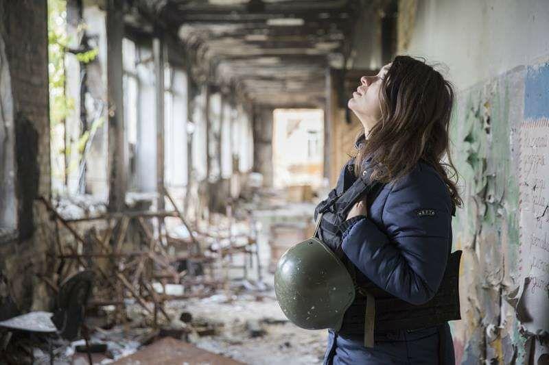 Воєнна кореспондентка Євгенія Подобна - лауреатка Національної премії Шевченка -  - photo 2020 02 27 12 14 45
