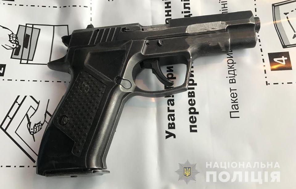 pistolet1 На Вишгородщині затримали торгівця зброєю