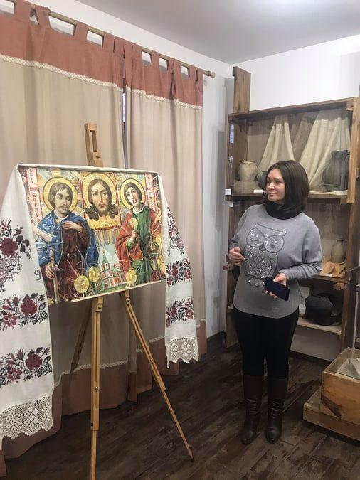 У Вишгородському музеї школярі вчили давньоруську абетку - Міжнародний день рідної мови, майстер-клас, київщина, ВІКЗ, Вишгород - vikz7
