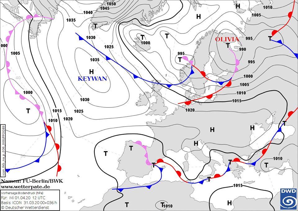 Першого квітня буде не до жартів: морози охоплять всю територію України, на Київщині до –5°С - погода - 01 pogoda2