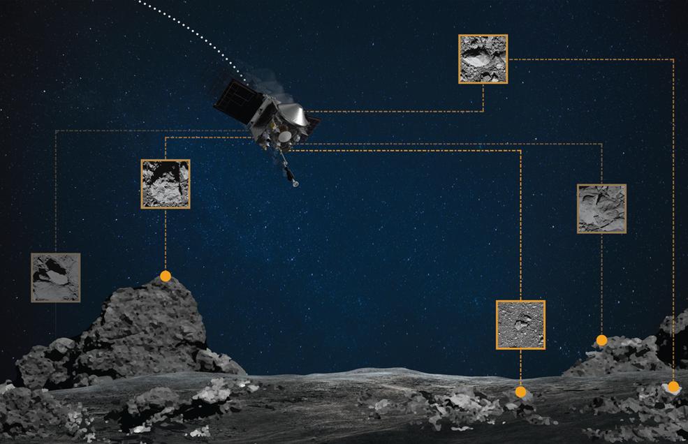Міжпланетна станція NASA пройшла на рекордно малій відстані від астероїда (ВІДЕО) - космос, астероїд - 10 asteroyd