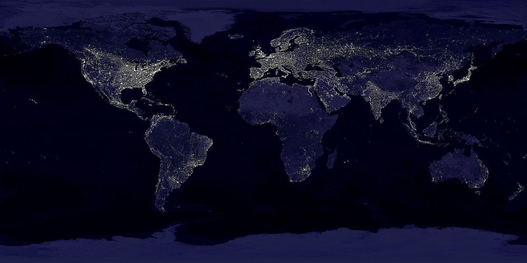 Світлове забруднення сягнуло морських глибин - Світовий океан - 10 svet