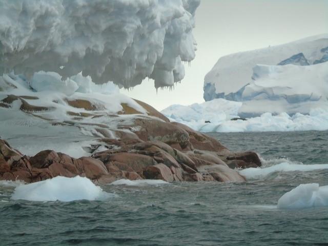В Антарктиді знайдено новий острів - Антарктика - 13 osrov