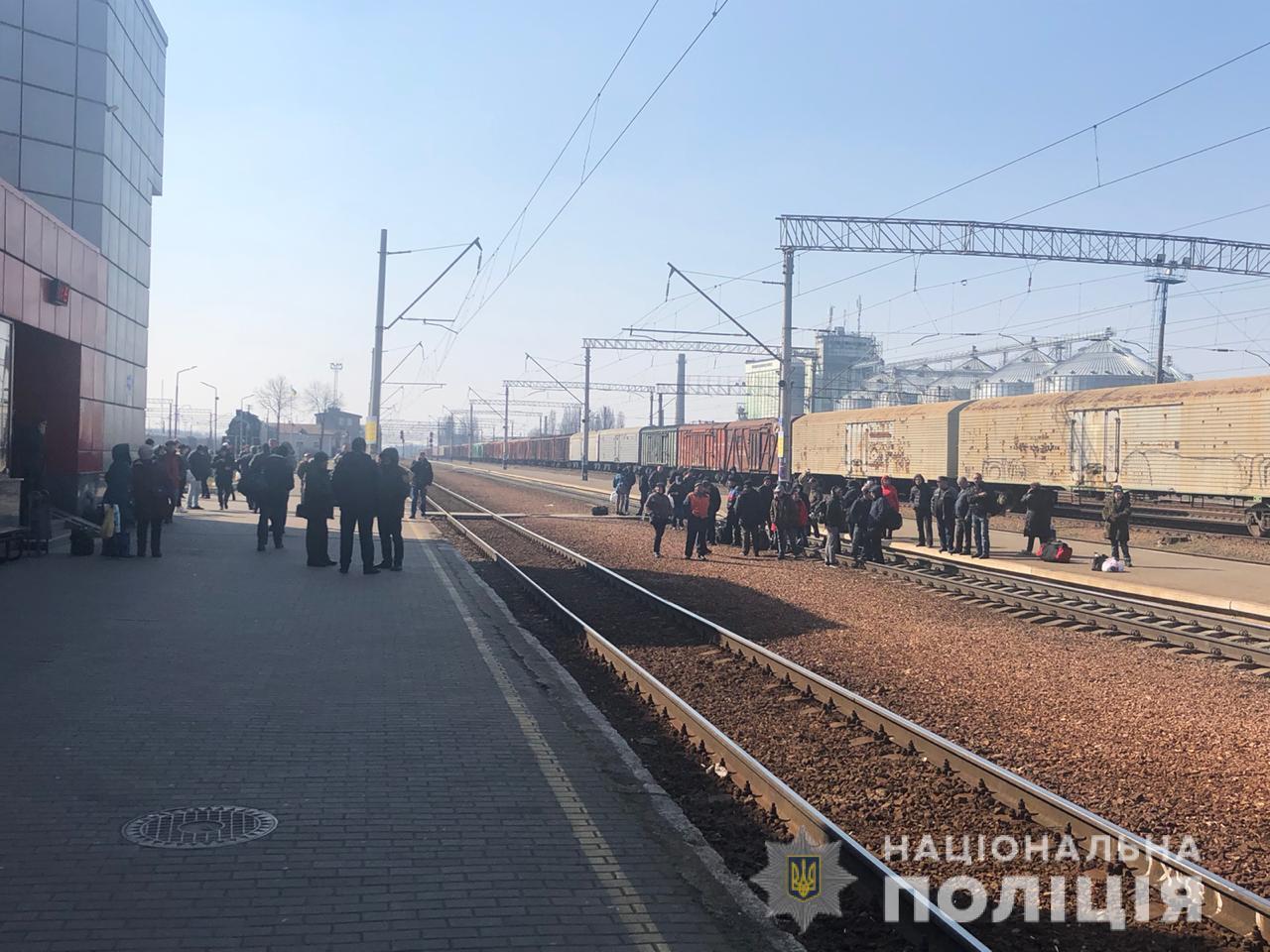 """На станції «Фастів» пасажири блокували залізничний рух - Фастів, станція """"Фастів"""", коронавірус - 1584534800735584"""