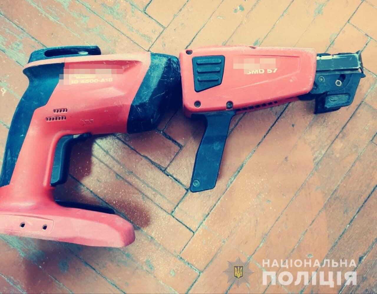 На Білоцерківщині спіймали крадія, що викрав електроінструменти на суму понад 80 тисяч грн - крадіжка, Білоцерківщина - 2 4