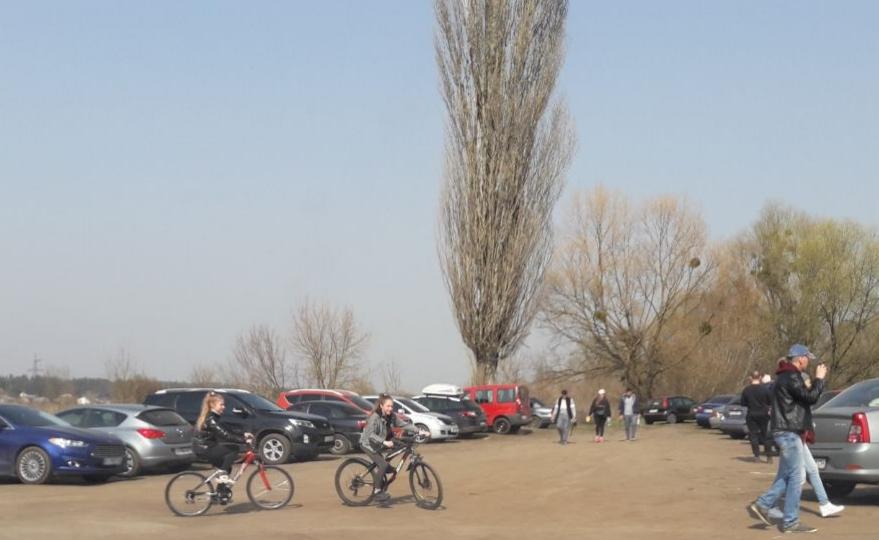 Шашлики під час карантину: на вихідних в Ірпені біля річки гуляли сотні людей (відео) -  - 20200331 082442