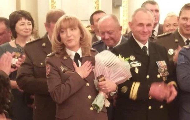 Друга жінка в історії України отримала генеральське звання -  - 2209699