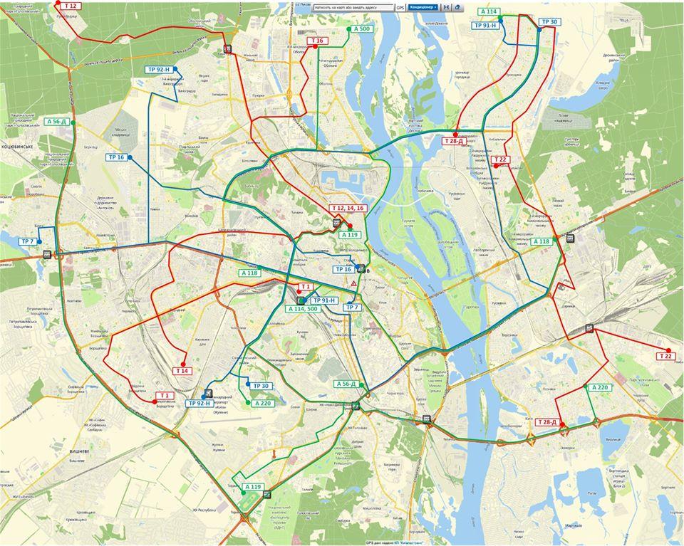 Як дістатися на роботу: опублікували тимчасові маршрути для окремих категорій пасажирів у Києві - Транспорт - 22 marshruty