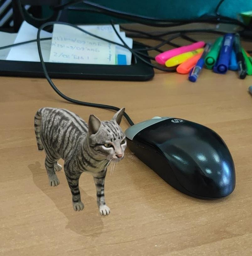 Тигр у вас вдома: як створити 3D-модель тварини за допомогою смартфона - тварина, google - 31 gugl