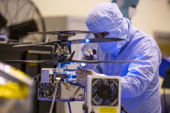 Запуск відбудеться без змін: марсіанський вертоліт НАСА проходить останні випробування - Марс, NASA - 31 mars